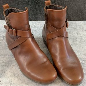 Ecco Felicia Ankle Boot, 37(US6.5)Cognac, like new